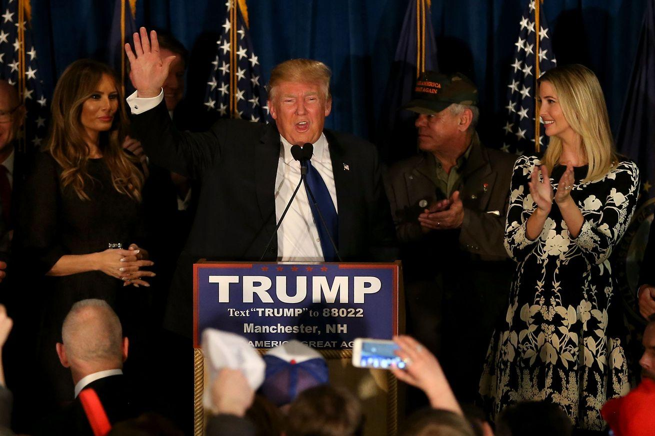 New Hampshire's results were a total disaster for the Republican establishment