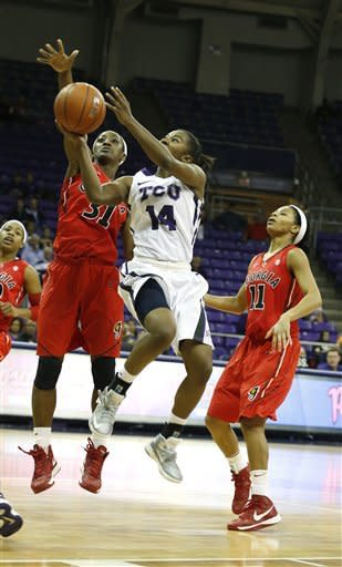 No. 6 Georgia women stay undefeated, 72-59 at TCU