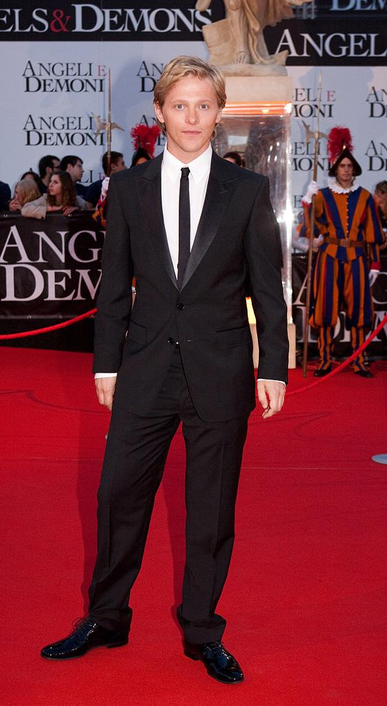 Angels and Demons Rome Premiere 2009 Thure Lindhardt