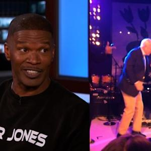 Jamie Foxx Explains John McCain Dancing Video