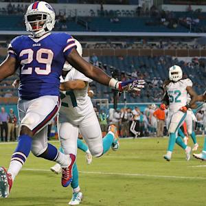 Trust in Karlos Williams, if at least for Week 4