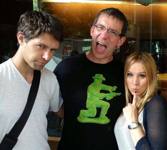 Ron, Rob, and the Rapist. @IMKristenBell @RobThomas
