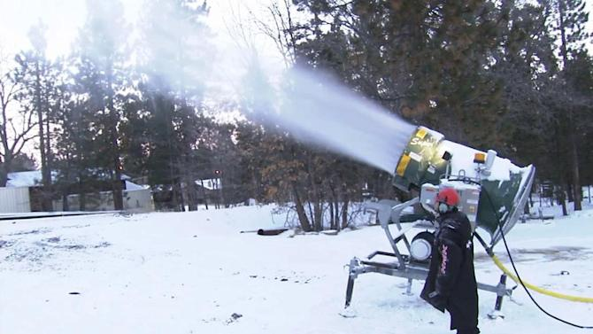 Snowmaking: Science gives Mother Nature a boost