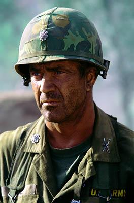 Mel Gibson as Lt. Col. Harold G. Moore in Paramount's We Were Soldiers