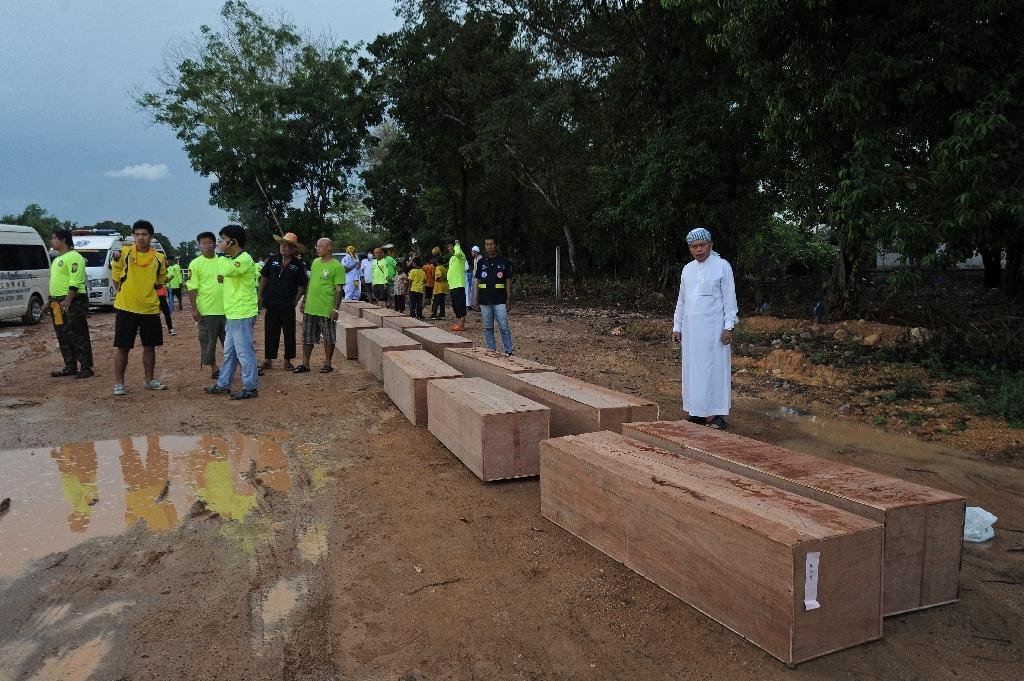 Thai police find graves at second migrant jungle camp