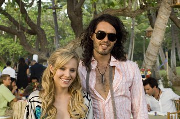 Kristen Bell and Russell Brand in Universal Pictures' Forgetting Sarah Marshall