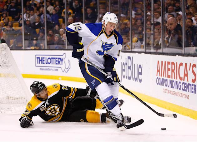 St Louis Blues v Boston Bruins