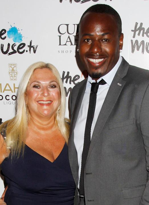 Weird celebrity couples: The 10-year age gap between Vanessa Feltz and Ben Ofoedu must be the secret to their lasting relationship. It still baffles us!