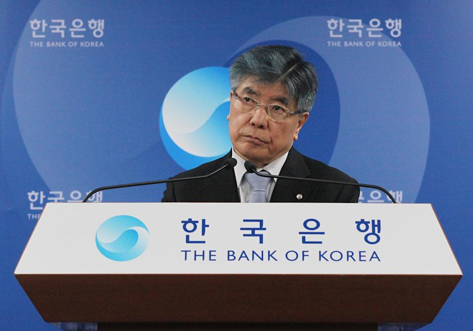 News Summary: Bank of Korea trims growth outlook