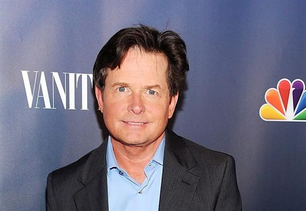 Actor Michael J. Fox attends the NBC 2013 Fall season launch party hosted by Vanity Fair at Le Bain on Monday, Sept. 16, 2013, in New York. What happens when you put Michael J. Fox and five Canadian reporters at a table? Hockey talk. (Photo by Evan Agostini/Invision/AP)