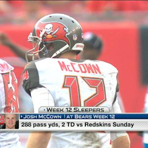 'NFL Fantasy Live': Wk 12 Sleepers