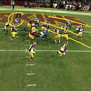 TNF Storylines: Redskins take 17-14 lead