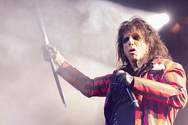 Alice Cooper Performs At The Orpheum Theatre