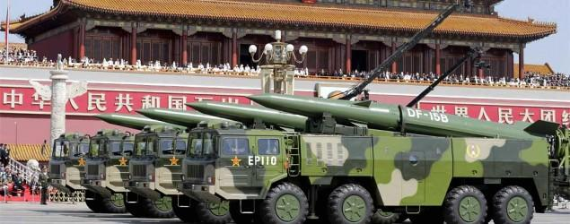 China puts on huge display of military might