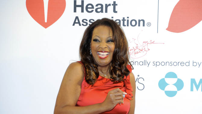 """FILE - In this Feb. 3, 2012, file photo,. tlevision personality Star Jones makes an appearance to promote the national """"Go Red For Women"""" campaign, in support of heart disease awareness, at Macy's Herald Square in New York. Jones launched a campaign that reflect an emerging trend among African American women: Finding creative ways to combat the obesity epidemic that poses a threat to their longevity. African-American women have the highest rate of obesity of any group of Americans. Four out of five black women have a body mass index above 25 percent, the threshold for being overweight or obese, according to the Centers for Disease Control and Prevention. By comparison, nearly two-thirds of all Americans are in this category, the CDC said. (AP Photo/Evan Agostini, File)"""