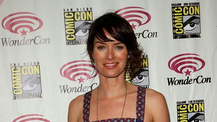 Lena Headey at the 2007 WonderCon.
