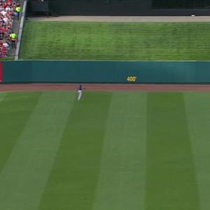 Carpenter's three-run homer