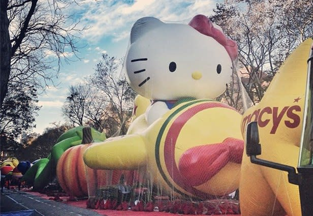 Sneak Peek at Macy's Thanksgiving Day Parade Balloons [PICS]