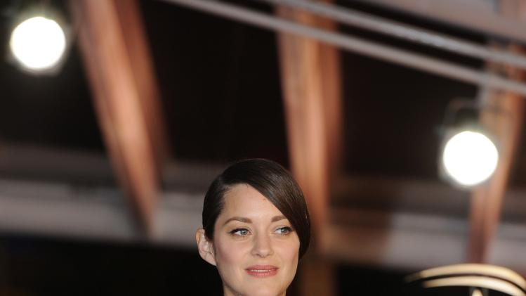 French actress Marion Cotillard attends the closing ceremony of the 13th edition of the International Film Festival in Marrakech
