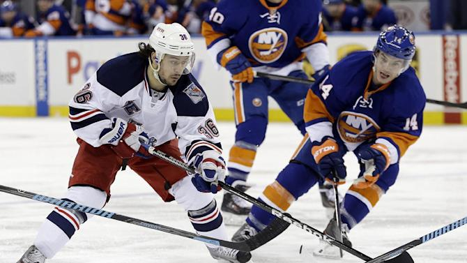 Rangers top Islanders again, win indoors 4-1