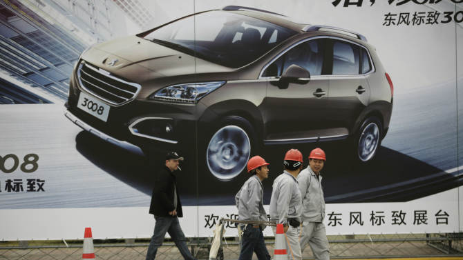Chinese automakers struggle against global rivals