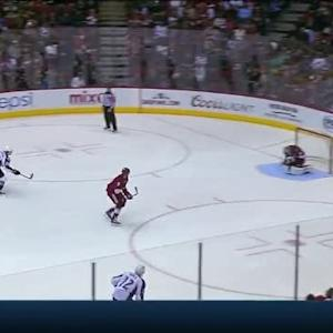 Mike Smith Save on Gabriel Landeskog (08:24/2nd)