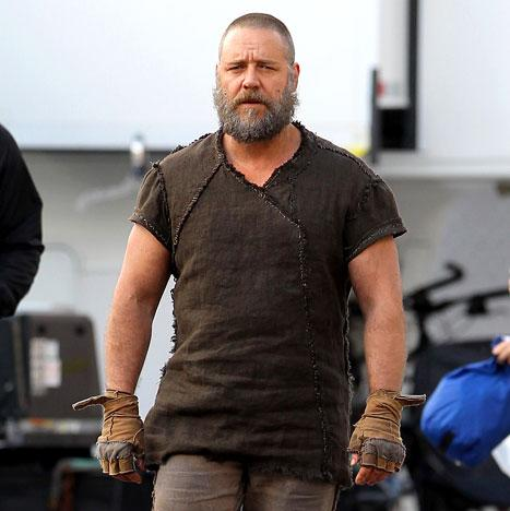 Russell Crowe's Noah's Ark Film Halted by Sandy