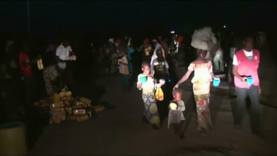 Nigeria brings hundreds of rescued women, children to refugee camp