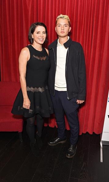 Jude Law's son Rafferty has fun night out with mom Sadie Frost in London