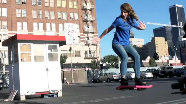 Is the hoverboard ad real or a hoax?