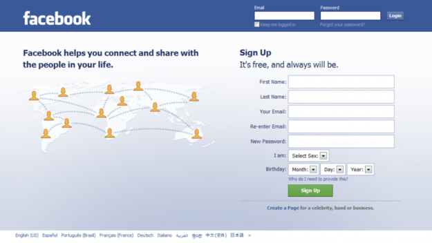 How to: Set up a Facebook profile