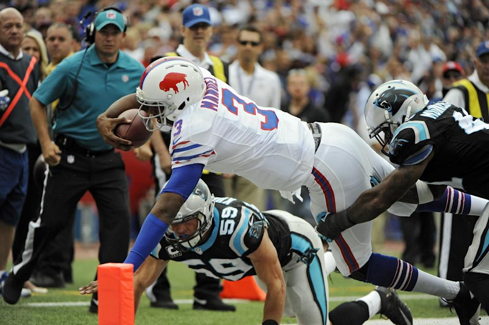 Bills coach Marrone slow to praise EJ just yet