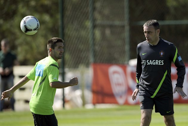 Portugal'snational Team Coach Paulo Bento (R) Watches AFP/Getty Images