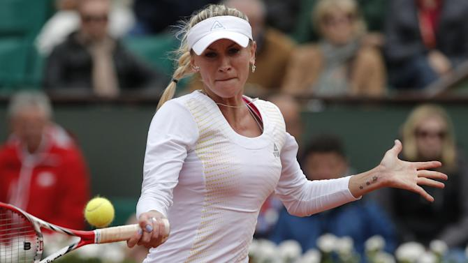 Govortsova tops Stosur at Bank of the West Classic