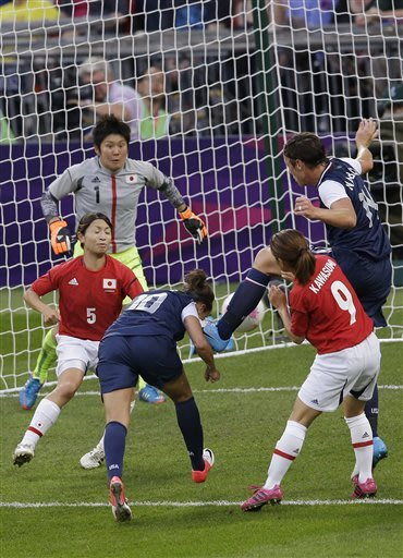 Hope's glory: Solo leads US to Olympic soccer gold