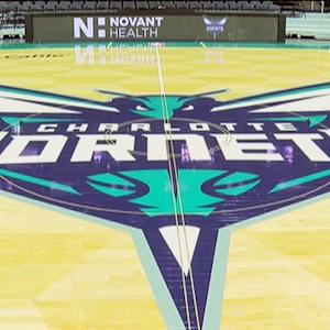 Time Lapse: Building the Charlotte Hornets' court