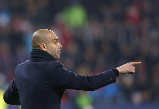 Head coach of Bayern Munich Pep Guardiola instructs his player during their Champions League Group D soccer match against Viktoria Pilsen in Pilsen, Czech Republic, Tuesday, Nov. 5, 2013. Bayern won t