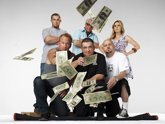 "The cast of ""Storage Wars."""