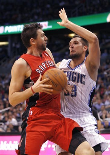 Anderson scores 24, Magic rally past Raptors
