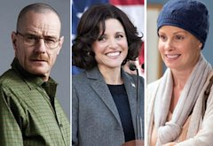 Bryan Cranston, Julia Louis-Dreyfus, Monica Potter | Photo Credits: AMC, HBO, NBC