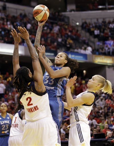 Catchings and Fever win first WNBA title