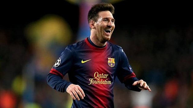 Lionel Messi has not played since sustaining a hamstring injury against Atletico Madrid earlier this month