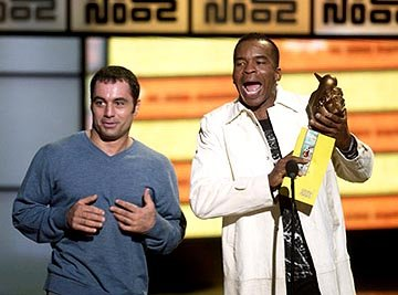 Joe Rogan and David Alan Grier VH-1 Big in 2002 Awards - 12/4/2002
