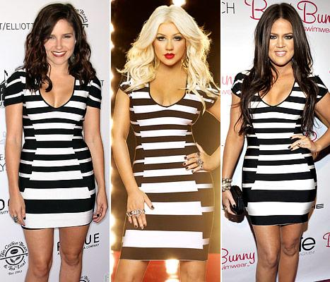 Who Wore It Best: Sophia Bush, Christina Aguilera or Khloe Kardashian?