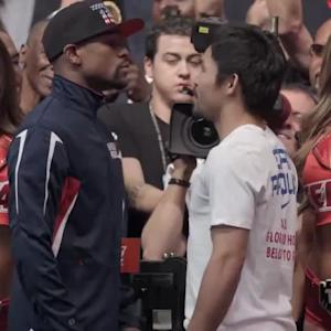 Mayweather vs. Pacquiao Weigh-Ins