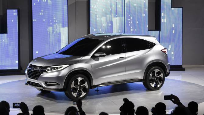 Honda offers glimpse of new small SUV