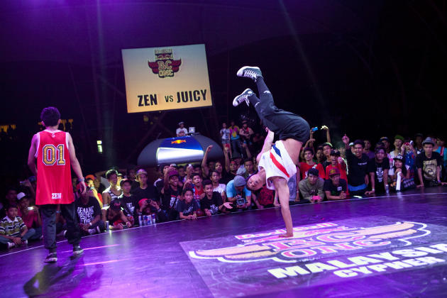 Red Bull BC One Cypher in Malaysia for the first time ever