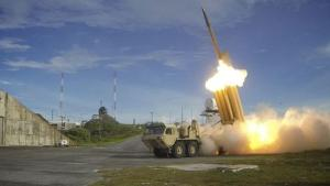 A Terminal High Altitude Area Defense (THAAD) interceptor …