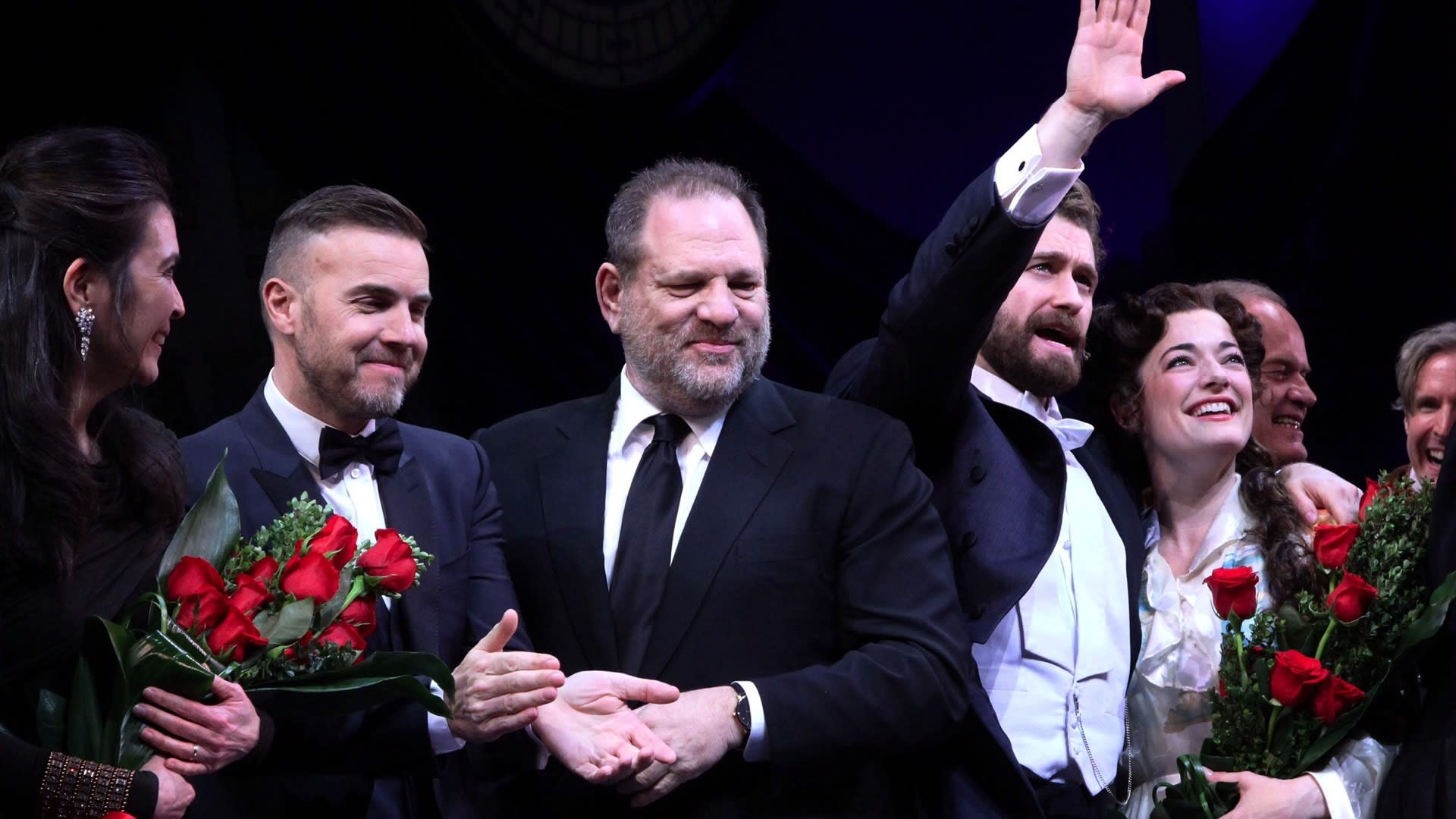 Big Softie Harvey Weinstein Opens 'Finding Neverland' on Broadway At Last
