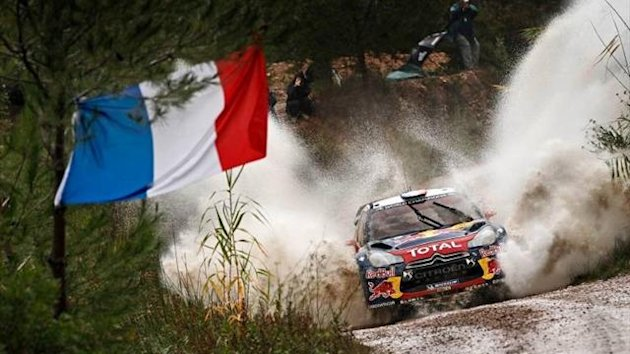 Sebastien Loeb in Spain (Imago)
